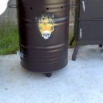 New Barrel Smoker & BBQ Pit